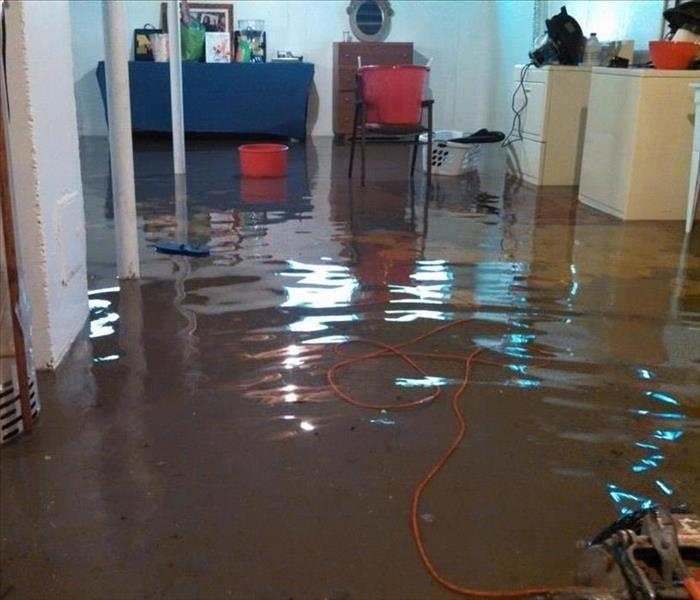 Storm Damage Lubbock Residents: We Specialize in Flooded Basement Cleanup and Restoration!