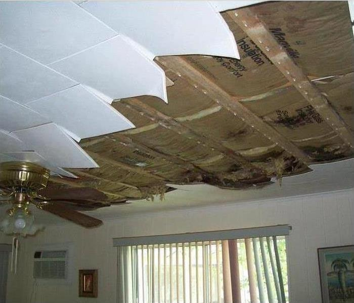 ceiling missing